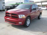 2012 Deep Cherry Red Crystal Pearl Dodge Ram 1500 Express Crew Cab 4x4 #60289858
