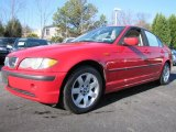 2003 Electric Red BMW 3 Series 325i Sedan #60289962