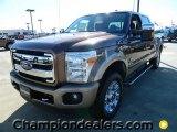 2012 Golden Bronze Metallic Ford F250 Super Duty Lariat Crew Cab 4x4 #60289650
