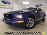 2005 Sonic Blue Metallic Ford Mustang V6 Deluxe Coupe #60289759