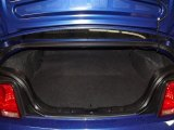 2005 Ford Mustang V6 Deluxe Coupe Trunk