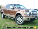 2012 Golden Bronze Metallic Ford F150 King Ranch SuperCrew 4x4 #60289753