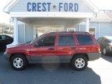 2002 Inferno Red Tinted Pearlcoat Jeep Grand Cherokee Laredo 4x4 #60320133