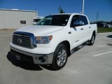 2012 Super White Toyota Tundra Platinum CrewMax 4x4 #60320072