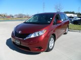 2012 Salsa Red Pearl Toyota Sienna LE #60320071