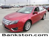 2011 Red Candy Metallic Ford Fusion SEL V6 #60320014