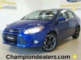 2012 Sonic Blue Metallic Ford Focus SE Sport Sedan #60320068