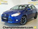 2012 Sonic Blue Metallic Ford Focus SE Sport Sedan #60320068