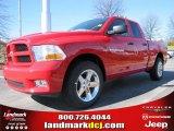 2012 Flame Red Dodge Ram 1500 Express Quad Cab #60328409