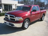 2011 Deep Cherry Red Crystal Pearl Dodge Ram 1500 SLT Quad Cab 4x4 #60328647