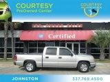 2006 Silver Birch Metallic Chevrolet Silverado 1500 LS Crew Cab #60328346