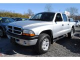 2004 Bright Silver Metallic Dodge Dakota SXT Quad Cab 4x4 #60328820