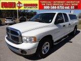 2004 Bright White Dodge Ram 1500 SLT Quad Cab #60328805