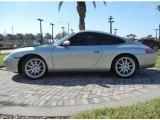 1999 Arctic Silver Metallic Porsche 911 Carrera Coupe #60328292