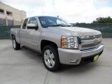 2008 Silver Birch Metallic Chevrolet Silverado 1500 LT Extended Cab #60328536