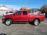 2007 Inferno Red Crystal Pearl Dodge Ram 1500 Big Horn Edition Quad Cab 4x4 #60328768