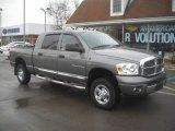 2007 Mineral Gray Metallic Dodge Ram 1500 Laramie Mega Cab 4x4 #60328511