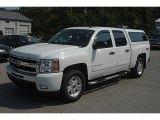 2009 Summit White Chevrolet Silverado 1500 LT Crew Cab 4x4 #60328765