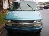 Medium Quasar Blue Metallic Chevrolet Astro in 1995