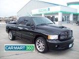 2005 Black Dodge Ram 1500 SRT-10 Quad Cab #60328729