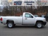 2012 Silver Ice Metallic Chevrolet Silverado 1500 Work Truck Regular Cab 4x4 #60328459