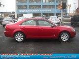 2007 Vivid Red Metallic Lincoln MKZ AWD Sedan #60328437