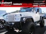 2006 Stone White Jeep Wrangler Rubicon 4x4 #60328427