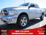 2012 Bright Silver Metallic Dodge Ram 1500 Big Horn Crew Cab #60328414