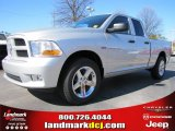 2012 Bright Silver Metallic Dodge Ram 1500 Express Quad Cab #60328413