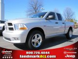 2012 Bright Silver Metallic Dodge Ram 1500 Express Quad Cab #60328411