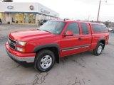 2006 Victory Red Chevrolet Silverado 1500 Z71 Extended Cab 4x4 #60379114