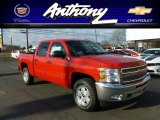 2012 Victory Red Chevrolet Silverado 1500 LT Crew Cab 4x4 #60379422