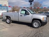 2012 Silver Ice Metallic Chevrolet Silverado 1500 Work Truck Regular Cab 4x4 #60378700