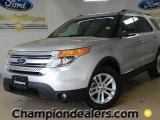 2011 Ingot Silver Metallic Ford Explorer XLT #60378690