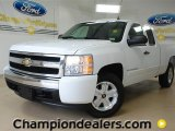 2008 Summit White Chevrolet Silverado 1500 LT Extended Cab #60378686