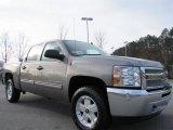 2012 Graystone Metallic Chevrolet Silverado 1500 LT Crew Cab 4x4 #60379027
