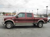 2007 Ford F250 Super Duty Dark Copper Metallic