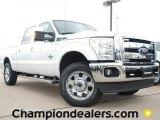 2012 Oxford White Ford F250 Super Duty Lariat Crew Cab #60378669