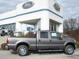 2012 Sterling Grey Metallic Ford F250 Super Duty XLT Crew Cab 4x4 #60378655