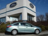 2012 Frosted Glass Metallic Ford Focus SE Sedan #60378652