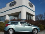 2012 Frosted Glass Metallic Ford Focus SE 5-Door #60378651