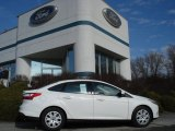 2012 Oxford White Ford Focus SE Sedan #60378650