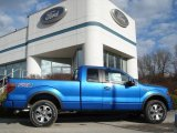 2012 Blue Flame Metallic Ford F150 FX4 SuperCab 4x4 #60378642