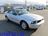 2006 Satin Silver Metallic Ford Mustang V6 Deluxe Convertible #60379307