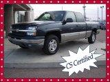 2003 Dark Gray Metallic Chevrolet Silverado 1500 LS Extended Cab 4x4 #60378971