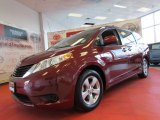2011 Salsa Red Pearl Toyota Sienna LE #60379240