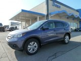 2012 Twilight Blue Metallic Honda CR-V EX-L 4WD #60379210