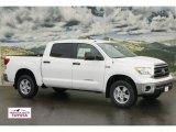 2012 Super White Toyota Tundra CrewMax 4x4 #60378534