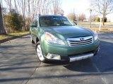 2012 Cypress Green Pearl Subaru Outback 2.5i Premium #60379195