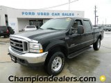 2004 Black Ford F250 Super Duty Lariat Crew Cab 4x4 #60378503